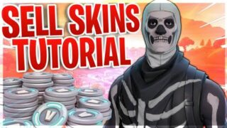 HOW TO SELL/REFUND SKINS/ ITEMS/ IN FORTNITE BATTLE ROYALE!