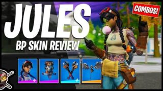 JULES Skin Review | Gameplay + Combos! Before You Buy (Fortnite Battle Royale)
