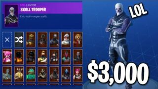 MY $3,000 FORTNITE SKIN COLLECTION… (All My Rarest Skins)