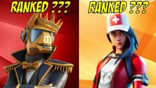 Ranking Every Tier 40 Skin In Fortnite From Worst To Best