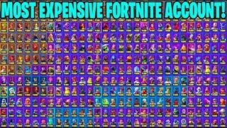 THE MOST STACKED FORTNITE ACCOUNT! (EVERY LEGENDARY SKIN?) | Fortnite Battle Royale!