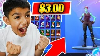 This is How My Little Brother Bought A *Rare* Fortnite Account For Only $3!(OG SKINS)