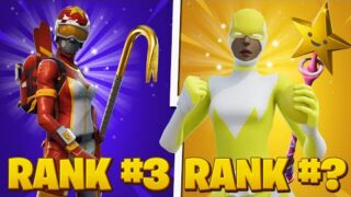 10 Most TRYHARD Skin Combos In Fortnite! (Main These Combos!)