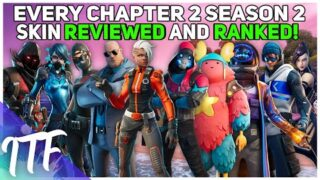 Every Chapter 2 Season 2 Skin REVIEWED and RANKED! (Fortnite Battle Royale)