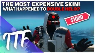 The Most EXPENSIVE Fortnite Skin – What Happened To Double Helix? (Fortnite Battle Royale)