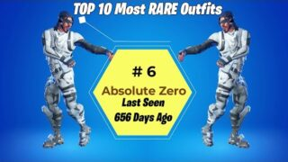 TOP 10 Most RARE Skins in Fortnite Battle Royale