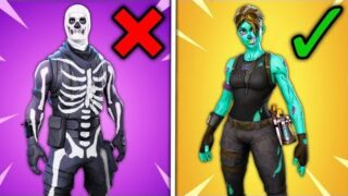 Top 10 OVERRATED Fortnite Skins RANKED WORST TO BEST!