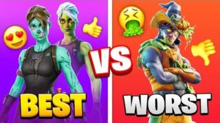 Top 15 SCARIEST Fortnite HALLOWEEN SKINS IN CHAPTER 2!