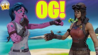 Wearing RARE Skins in Creative Fill Lobbies… (INSANE REACTIONS!)
