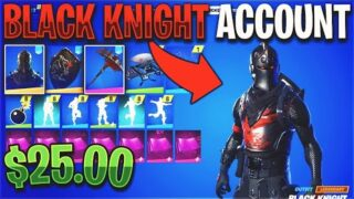 Buying a BLACK KNIGHT Fortnite Account for $25…