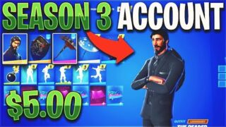 Buying a SEASON 3 Fortnite Account for $5…